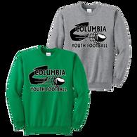 Columbia Youth Football Crewneck