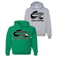 Columbia Youth Football Hoodie