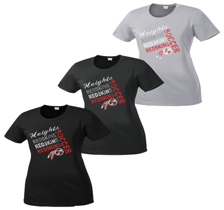 Heights Soccer Ladies Performance Tee