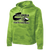Columbia Youth Football Camohex Hoodie - Lime Shock