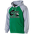 Columbia Youth Football Banner Hoodie - Kelly/Athletic Heather