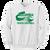 Columbia Youth Football Crewneck - White