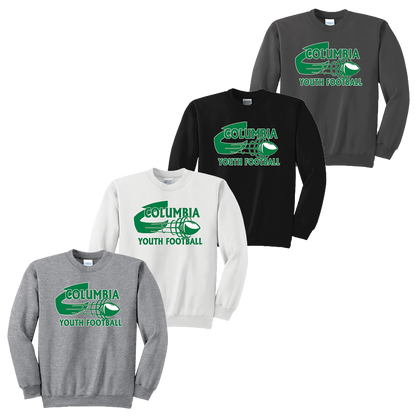 Columbia Youth Football Crewneck