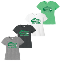 Columbia Youth Football Ladies Crew Tee