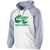 Columbia Youth Football Banner Hoodie - White/Athletic Heather
