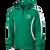 Columbia Youth Football Anorak Jacket - Kelly Green/White - Kelly/White Logo
