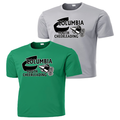 Columbia Youth Cheer Performance Tee