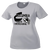 Columbia Youth Cheer Ladies Performance Tee - Silver