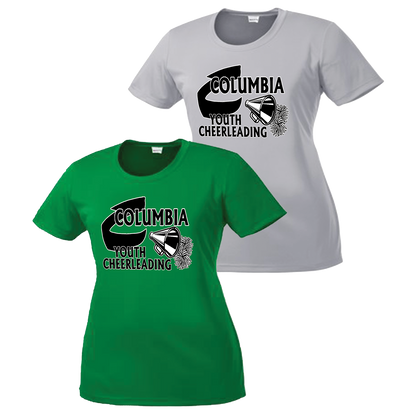 Columbia Youth Cheer Ladies Performance Tee
