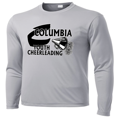 Columbia Youth Cheer Performance LS Tee