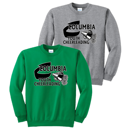 Columbia Youth Cheer Crewneck