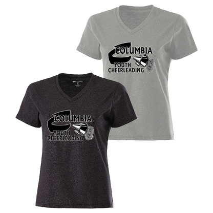 Columbia Youth Football Ladies Glimmer Tee