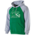 Columbia Youth Cheer Banner Hoodie - Kelly/Athletic Heather