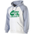 Columbia Youth Cheer Banner Hoodie - White/Athletic Heather