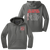 Cuyahoga Hts Marching Band Performance Hoodie - Dark Smoke Grey