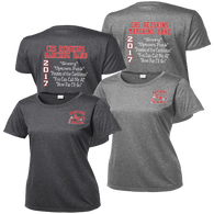 Cuyahoga Hts Marching Band Ladies Heather Contender Tee