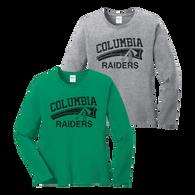 Columbia Raiders Ladies LS Tee