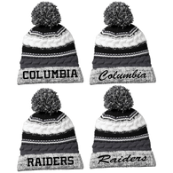 Columbia Raiders Pom Pom Beanie