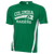 Columbia Raiders Colorblock Competitor Tee - Kelly Green/White
