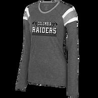 Columbia Raiders Ladies Fanatic LS Tee (F183)