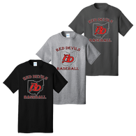 Red Devils Baseball Tee
