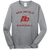 Red Devils Baseball LS Tee - Athletic Heather