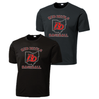 Red Devils Baseball Performance Tee