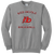 Red Devils Baseball Crewneck - Athletic Heather