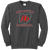 Red Devils Baseball Crewneck - Charcoal