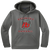 Red Devils Baseball Performance Hoodie -  Dark Smoke Grey