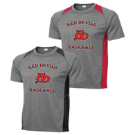 Red Devils Baseball Colorblock Contender Tee