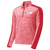 NEO Volleyball Club Electric 1/4 Zip Pullover - Red Electric/Red
