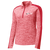 NEO Volleyball Club Ladies Electric 1/4 Zip Pullover - Red Electric/Red