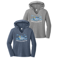 Bulldogs Swim & Dive Ladies Perfect Hoodie