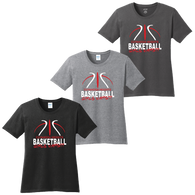 Cuyahoga Heights Girls Basketball Ladies Tee