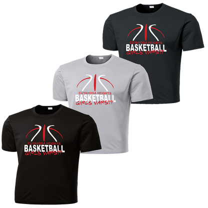 Cuyahoga Heights Girls Basketball Performance Tee