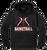 Cuyahoga Heights Girls Basketball Performance Hoodie - Black