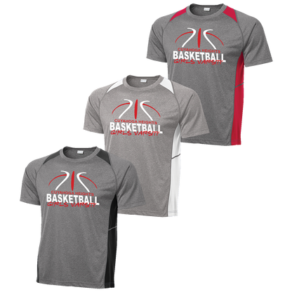 Cuyahoga Heights Girls Basketball Colorblock Contender Tee