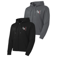 Cuyahoga Heights Softball Performance Full-Zip Hoodie