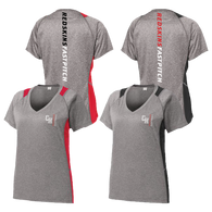 Cuyahoga Heights Softball Colorblock Ladies Tee