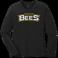 Brecksville Bees Baseball Ladies LS Tee