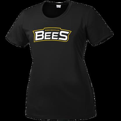 Brecksville Bees Baseball Ladies Performance Tee