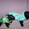 Goochi Poochi & Me Fleece Vest With Collar - Size Large