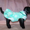 Goochi Poochi & Me Fleece Ruffle Coat  - Size X-Large