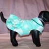 Goochi Poochi & Me Fleece Ruffle Coat  - Size Large