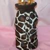 Goochi Poochi & Me Giraffe Faux Fur Coat - Size Large