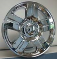 "20"" REPLICA CHEVY SILVERADO TEXAS EDITION CHROME 6x5.5 +31 offset"