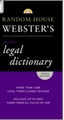 Random House Webster's Pocket Legal Dictionary, Third Edition