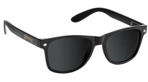 Glassy Leonard Sunglasses - Black/Polarized