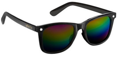 Glassy Mike Mo Sunglasses - Black/Color Polarized